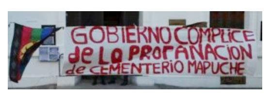 Aprueban proyecto de expropiación de tierras para asignarlas a un cementerio mapuche