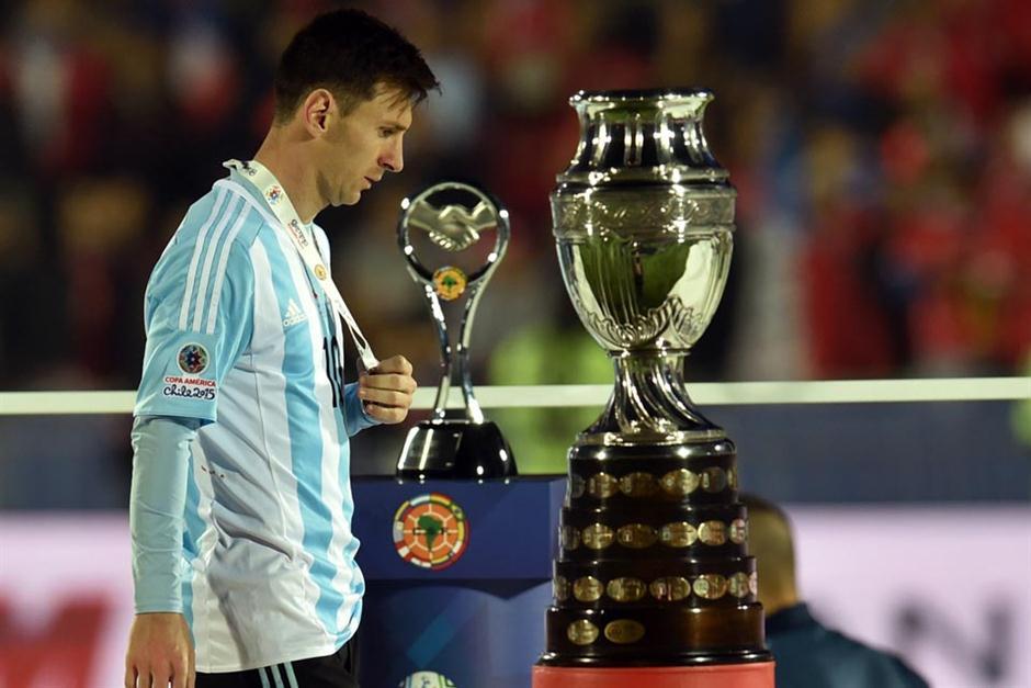 Denuncian supuesta agresión  la familia de Messi durante la final de la Copa América