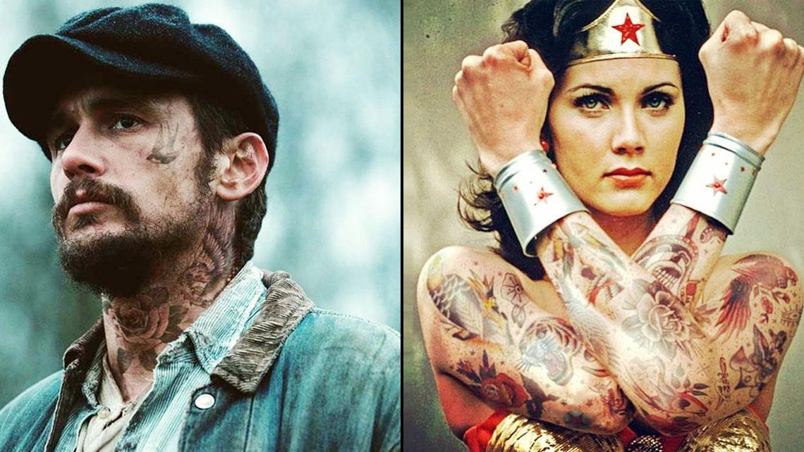 Artista del photoshop realiza montajes tatuando famosos, el resultado es bellísimo
