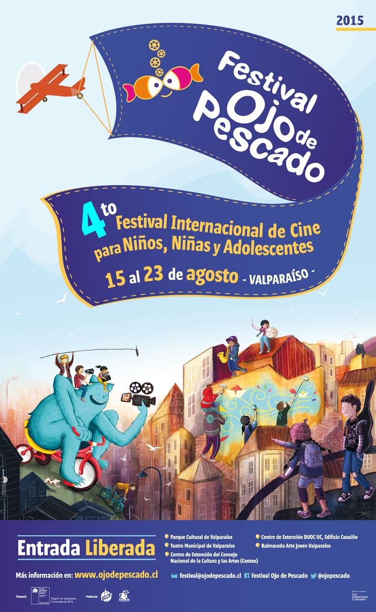 Los imperdibles de la programación  del 4to Festival de Cine Ojo de Pescado