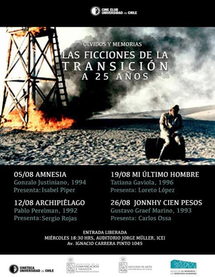 Ciclo de Cine Olvidos y Memoria: Las ficciones de la transición a 25 años