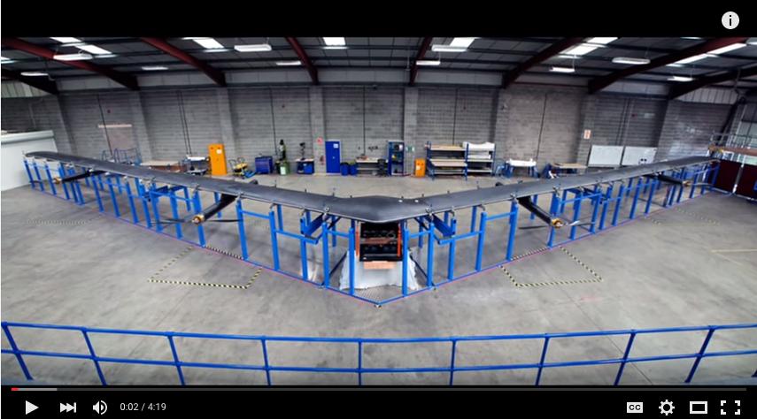 Aquila el avión de Facebook que te dará Internet desde el cielo