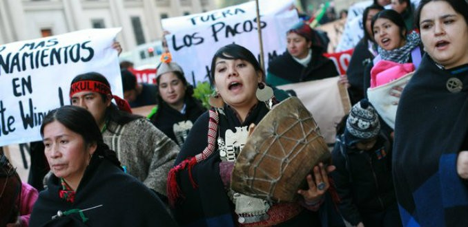 Representante comunidades mapuche: «La venida de los camioneros es un circo más de los latifundistas»