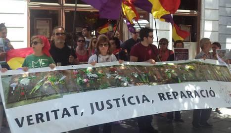 La ONG Rights International Spain denuncia la deuda de España con las víctimas del franquismo