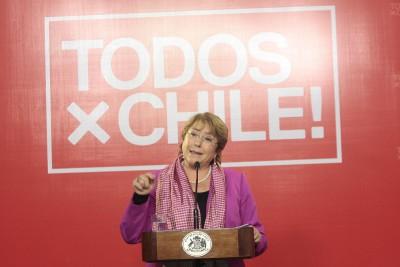 Bachelet post-conclave «Estamos consolidando el compromiso que asumimos»