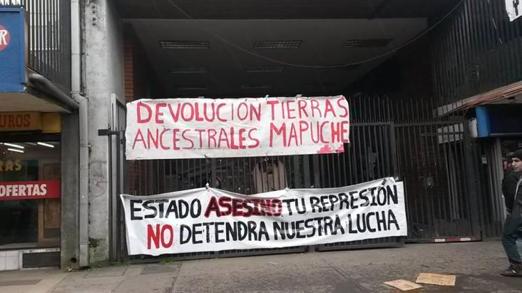 """""""Estamos acá para visibilizar la violencia cotidiana en las comunidades y plantear nuestra demanda por el territorio ancestral"""""""