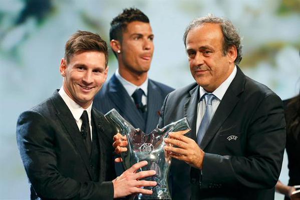 Messi, otra vez el rey de Europa