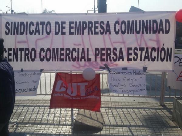 El sindicato Centro Comercial Persa Estación en huelga por mejoras laborales