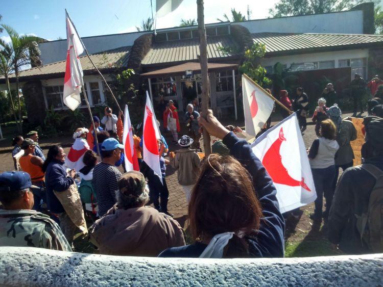 Crisis Chile-Rapa Nui: El arbitrario encarcelamiento de líder ancestral Matías Riroroko en Penal Santiago Uno