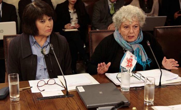 Carmen Gloria Quintana y Verónica De Negri exigen a diputados pedir a las FFAA la entrega de todos los antecedentes respecto de violaciones a los derechos humanos