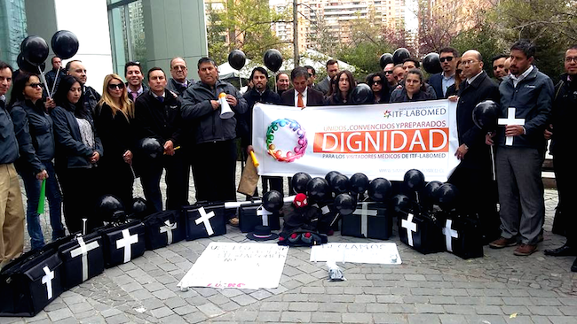 Sindicato de la farmacéutica ITF-Labomed entra en huelga