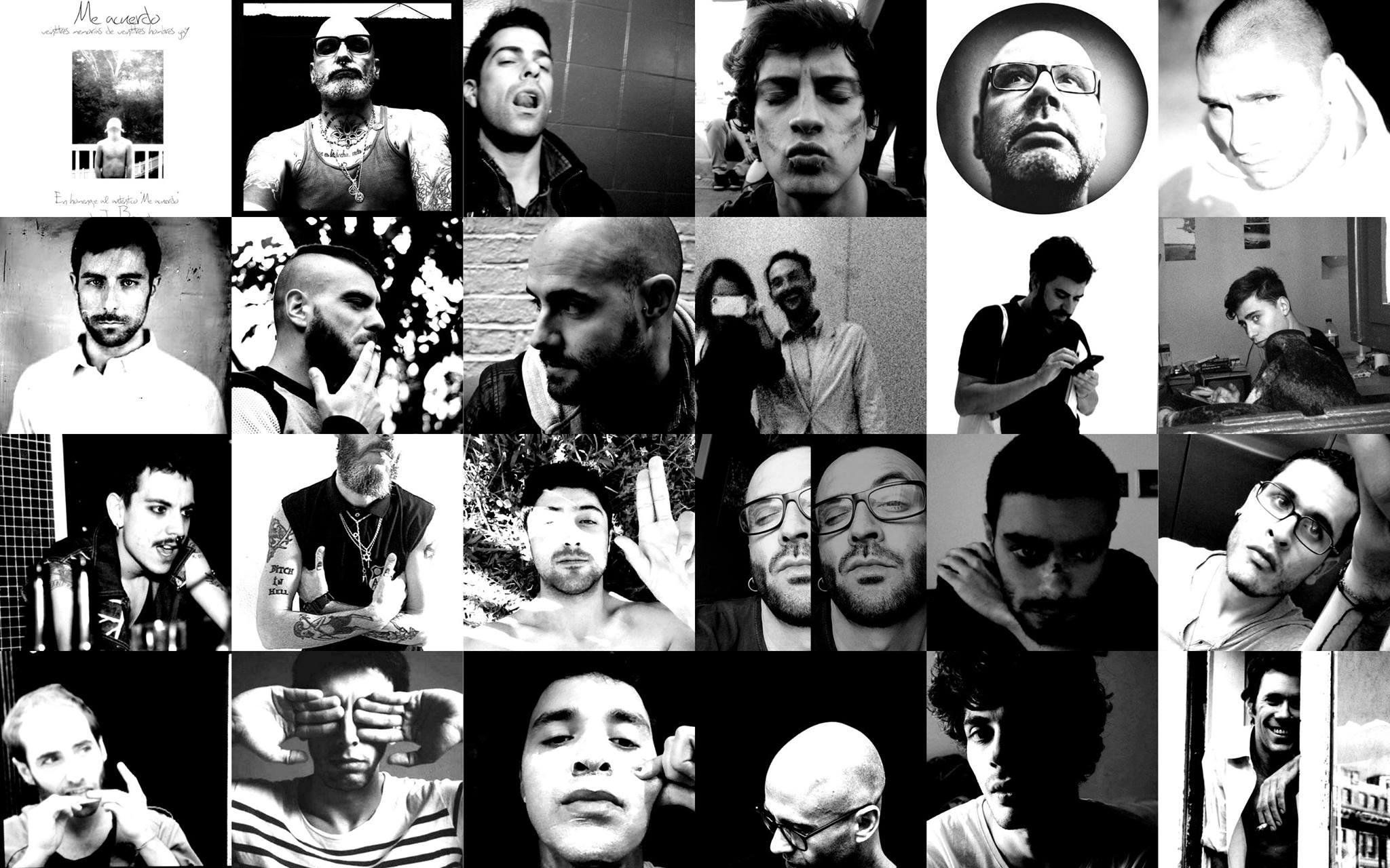 23 memorias de 23 hombres gay