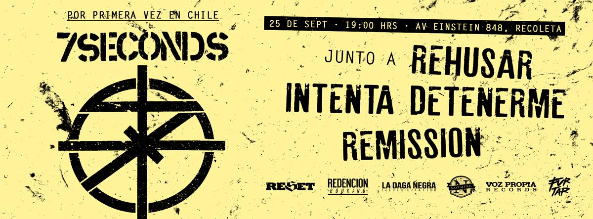 """""""7 Seconds"""" se presentan esta tarde por primera vez en Chile"""