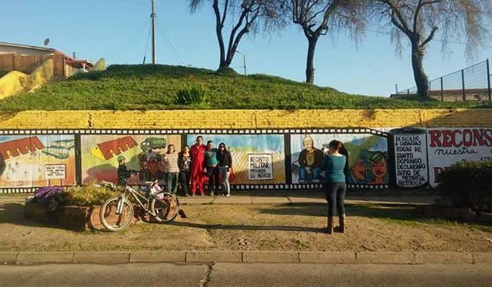 San Antonio: Mural sobre derechos humanos podría ser borrado por Municipalidad