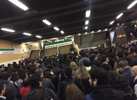 Fuego en el metro: Descartan intervención de terceros