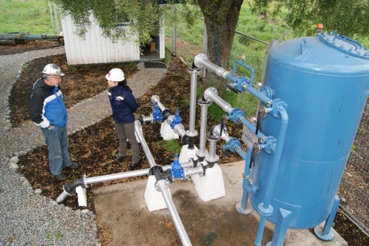"""""""Chile se encuentra en los primeros lugares de América en lo que se refiere a coberturas de agua potable"""""""