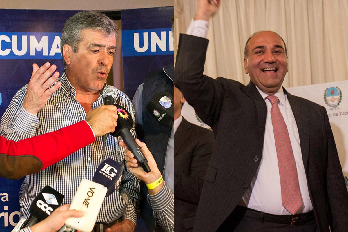 Luego de las denuncias por fraude, parece irreversible el triunfo de Manzur sobre Cano en Tucumán
