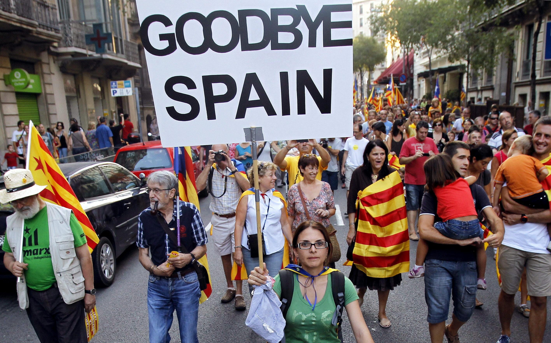 Cataluña: cortes en distintas partes de la ciudad para exigir liberación de líderes independentistas