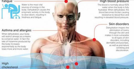 11 graves formas de deshidratación que te están enfermando y engordando
