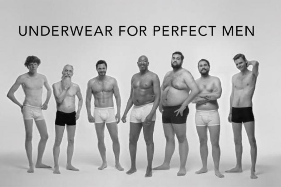 Comercial de ropa interior masculina derriba estereotipos de belleza