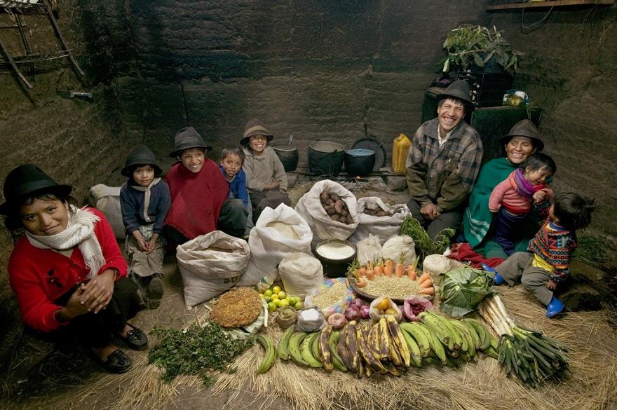 Familias de todo el mundo nos muestran lo que compran para comer y cuánto gastan.