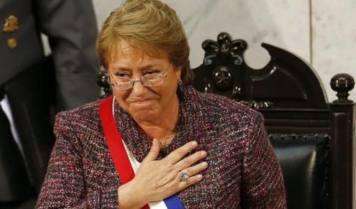 Encuesta CEP: Aprobación de Bachelet cae a un 22% y alcanza un 61% de desaprobación