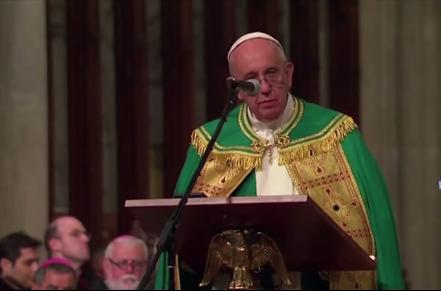Fuertes declaraciones del Papa en Nueva York
