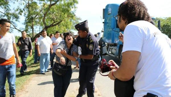 Honduras: agreden a periodistas en protesta anticorrupción