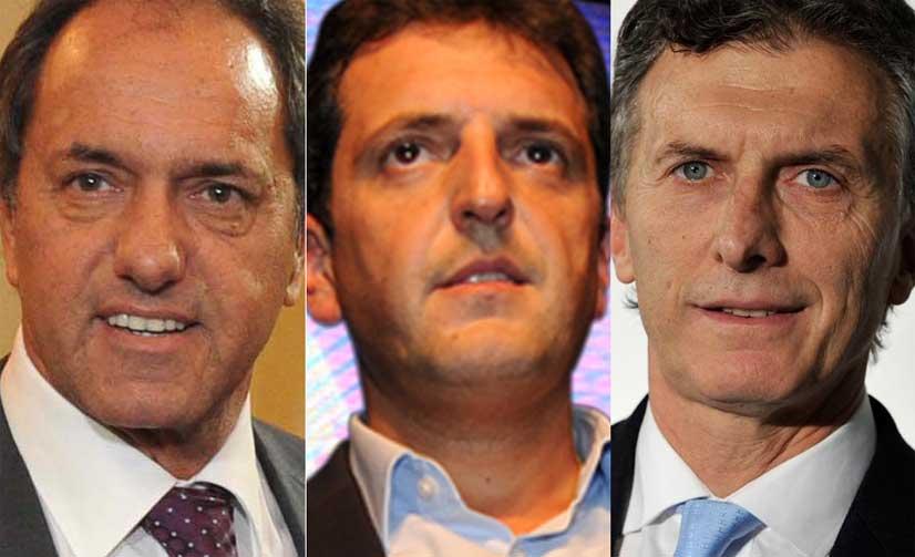 Cruces y chicanas entre los tres principales candidatos presidenciales