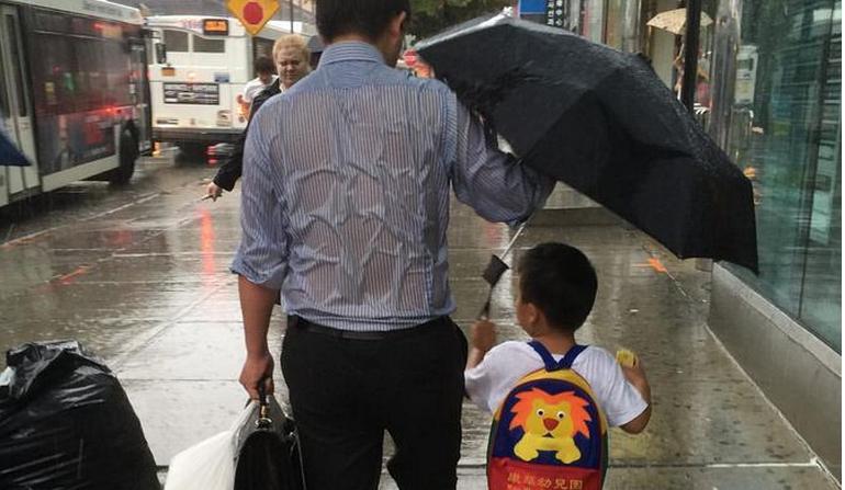 #UmbrellaDad