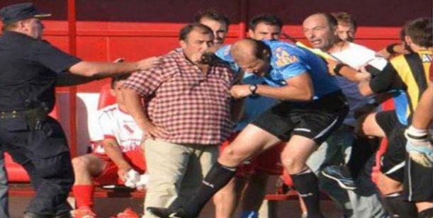 Corte condena a seis meses de prisión a padre de jugador que agredió a un árbitro