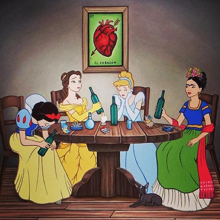 Frida Kahlo se va para Disney