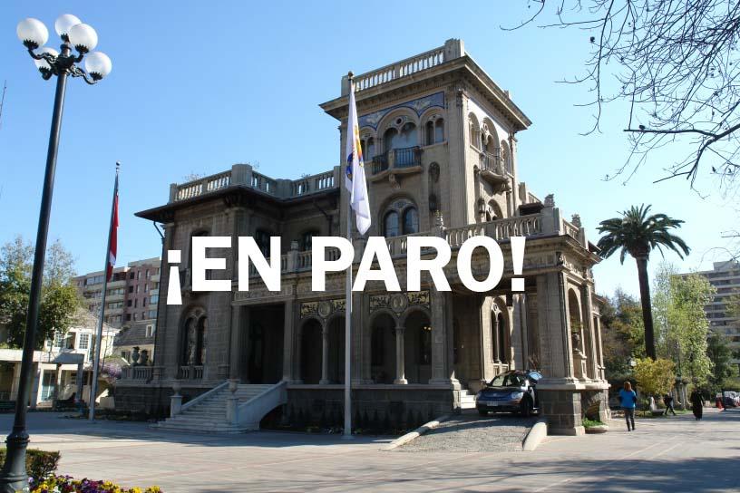 Municipalidad de Providencia en PARO