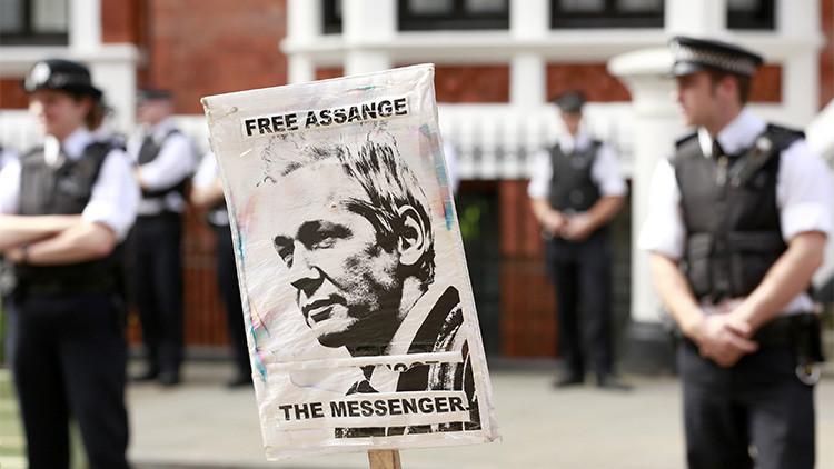 WikiLeaks: Reino Unido impidió que interrogaran a Julian Assange en Londres