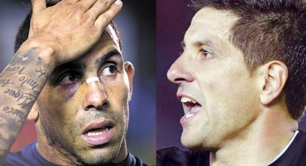 Volvió el cabaret a Boca: Orión se enfrentó con Tevez antes del entrenamiento