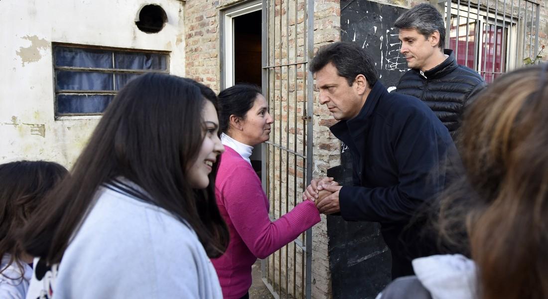 Polémico: Massa propone introducir a las Fuerzas Armadas en los barrios humildes para combatir al narcotráfico