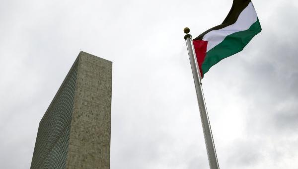 Bandera de Palestina ondea por primera vez en la sede de la ONU