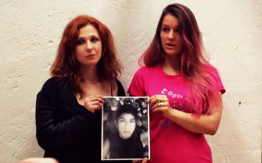 Pussy Riot  se reune con la organización H.I.J.O.S México