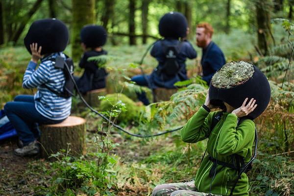 ¿Te gustaría ver el bosque como lo vería un animal?