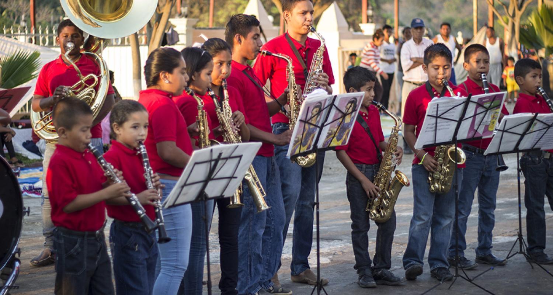 La Banda de Viento «El Señor del Perdón», manifestación cultural de Igualapa, Guerrero