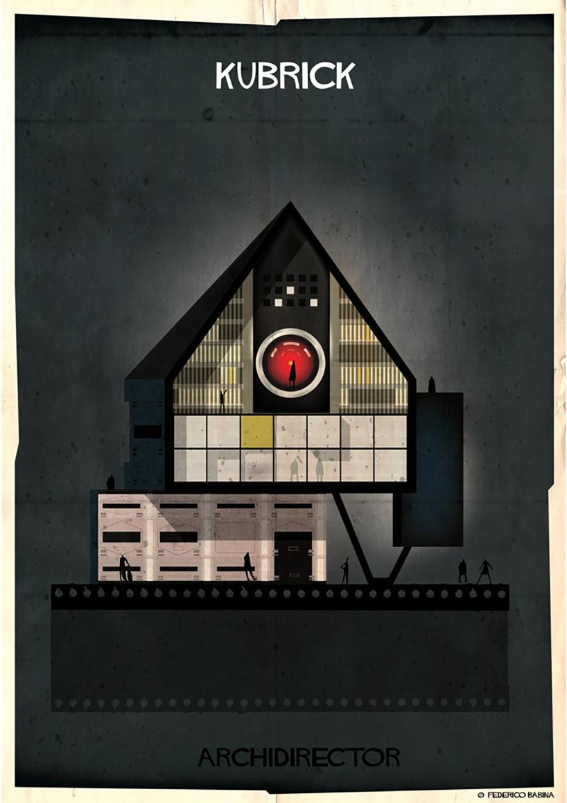Si los grandes directores de cine hubiesen sido arquitectos