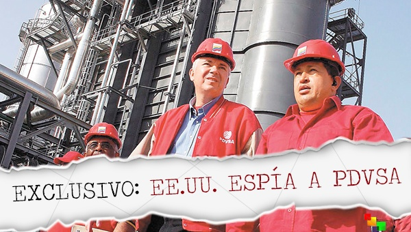 Documentos de Snowden revelarían que EEUU espió a petrolera estatal de Venezuela