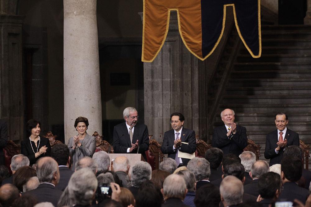Rinde protesta como nuevo rector de la UNAM, Enrique Graue Wiechers