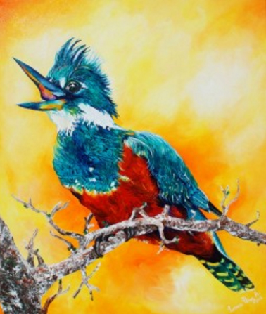 Artista visual rescata mediante aves y mamíferos la cosmovisión mapuche