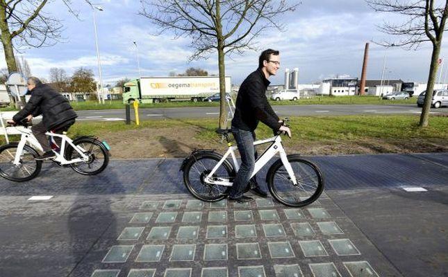Ya existen ciclovías solares que generan electricidad