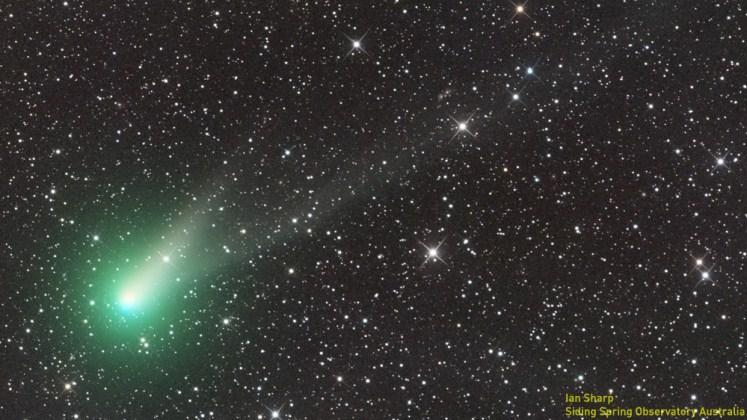 Un cometa de dos colas se verá a simple vista en el hemisferio norte