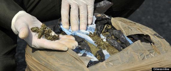 Presos colombianos que traían 6 kilos de marihuana camuflada con café