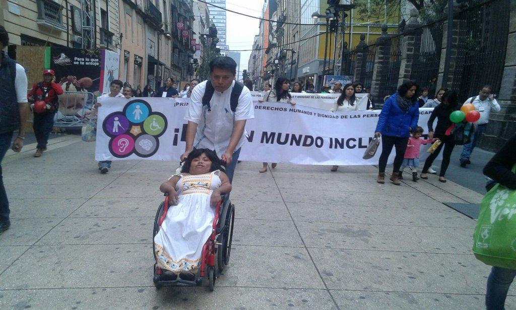 Denuncian exclusión en Día Internacional de la Discapacidad