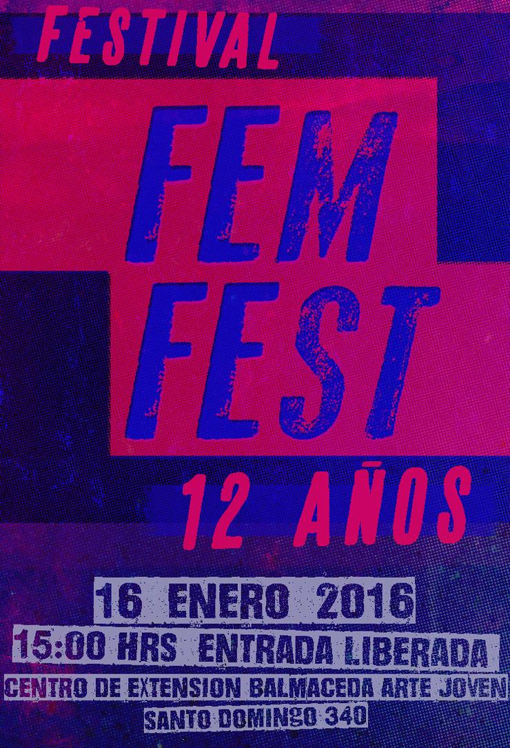 12 AÑOS DE FEMFEST