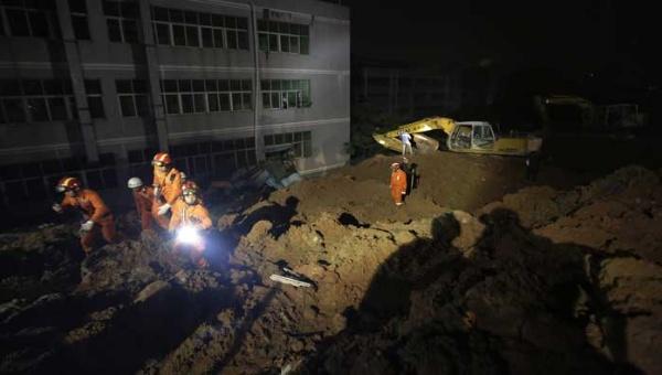 China: 91 desaparecidos por deslizamiento de tierra